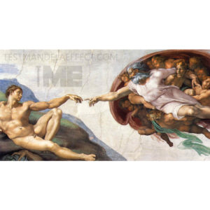 Creator\'s arm at shallow angle