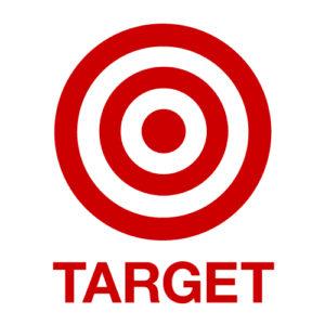 1 Red Bullseye & 2 Red Rings
